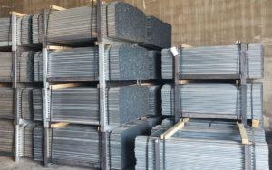 tutor de hierro galvanizado en stock